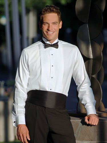 Chaplin - Basic Tux Shirt (1100) - Mr Tux - Tuxedos, Vests, Shirts and Accessories for Special Occasions