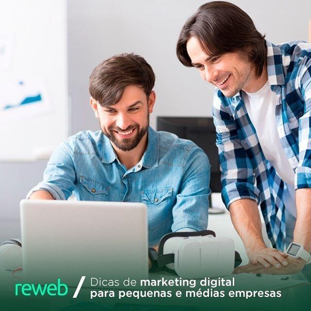 zpr 5 dicas rápidas de marketing digital para pequenas e médias empresas. Acesse o nosso site!  #Reweb #GoogleAdwords #LinksPatrocinados #EmailMarketing #DigitalMarketing #SEO #AgenciaDeSEO #MarketingDigital #Adwords #LandingPages #WebSite #WebDesigner #Mkt #Ecommerce #WebMarketing #Leads #MidiasSociais #SocialMedia #agenciareweb