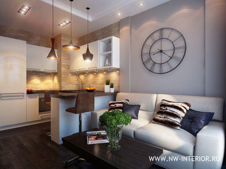 35 квадратных метров по мотивам лофта / Концепция интерьера маленькой квартиры (до 49 кв. м.) / Конкурсы / TheDecoPost