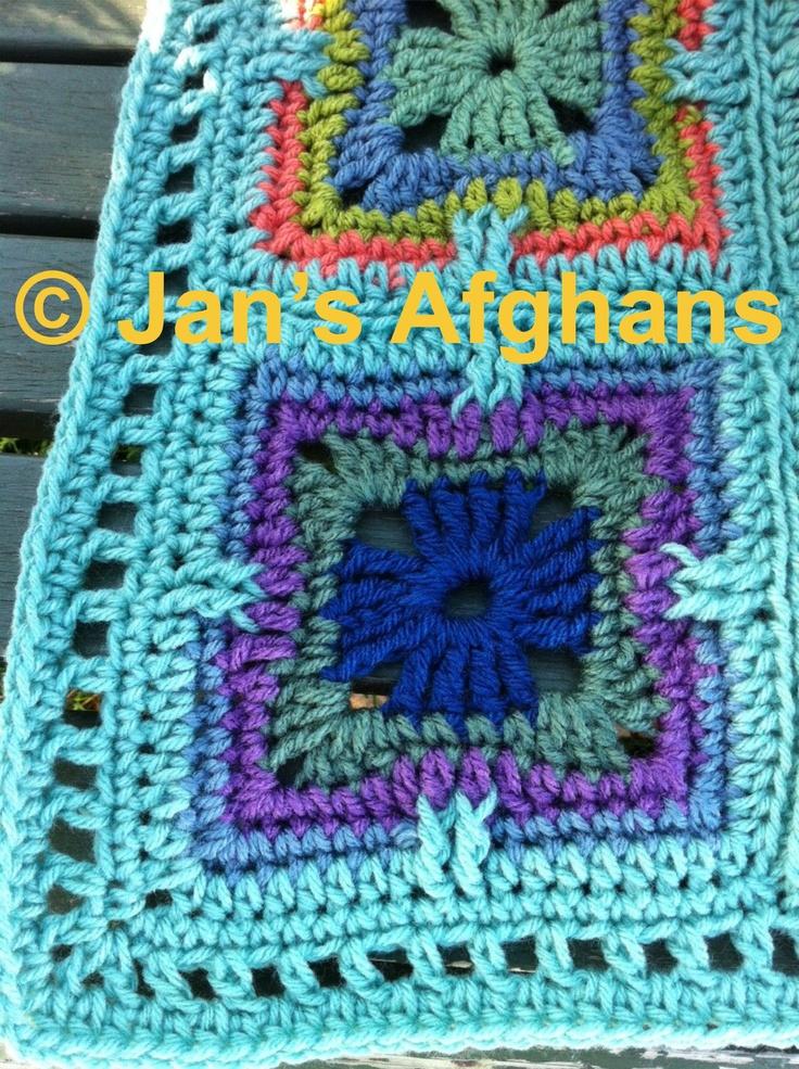 93 best crochet kaleidoscope blankets images on. Black Bedroom Furniture Sets. Home Design Ideas