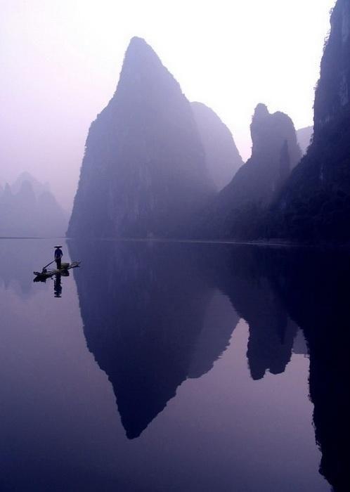 Живописные пейзажи долины реки Ли (Китай) - Ярмарка Мастеров - ручная работа…