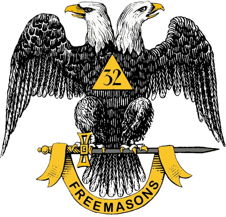 Scottish Heritage Tattoos: 32nd Degree Double Headed Eagle