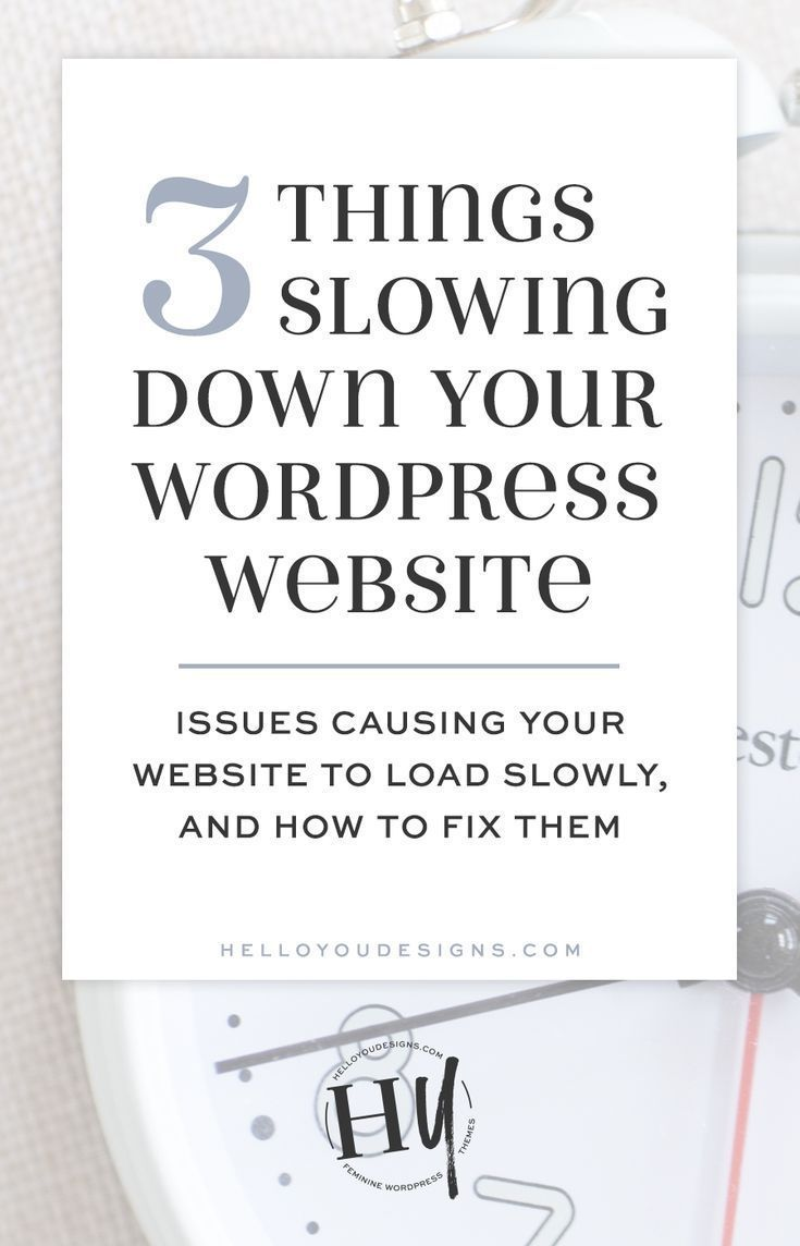 Website traffic is hard enough to come by without losing your audience due to a slow-loading website. There are a variety of things that can slow down your ...
