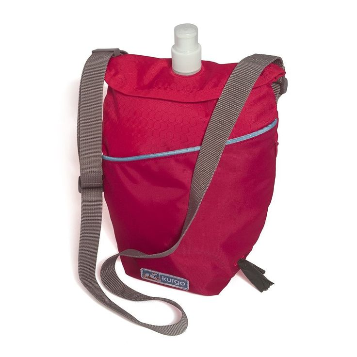 I love this water canteen for my dog and me! It's my new summer purse. Fits my phone, keys, dog treats and of course poop bags. Having lots of fresh cold water on these hot days is awesome!