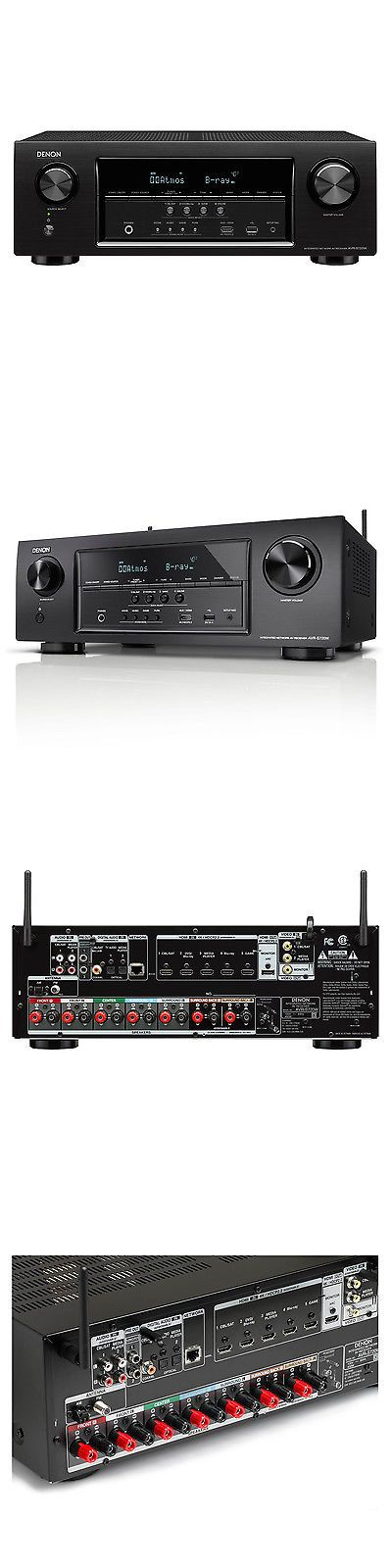 Home Theater Receivers: Denon Avr-S720w 7.2 Channel Surround Sound Receiver With Wi-Fi And Bluetooth BUY IT NOW ONLY: $479.0