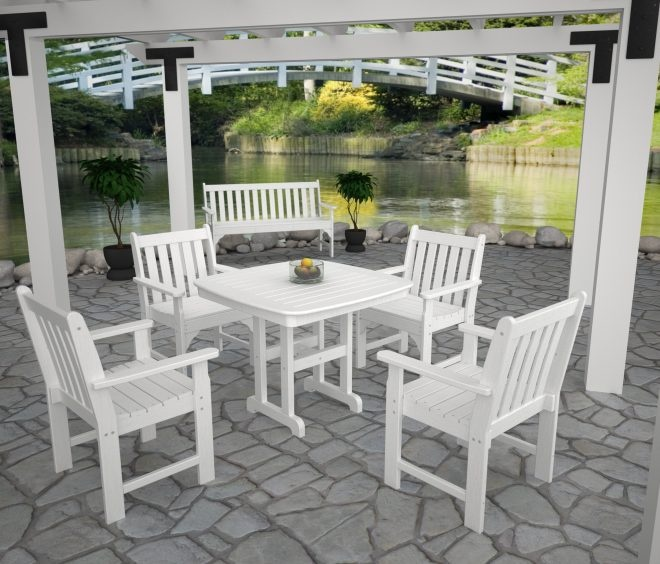 Wood Patio Furniture Plastic Lumber Milk Jugs Vineyard Home Ideas Collection Armchair Insects