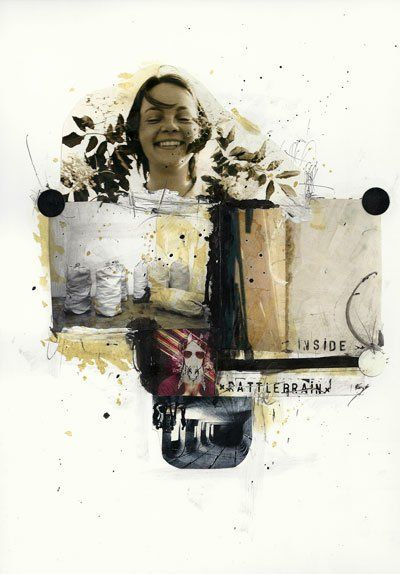Rattlebrain /collage013/ 29,7x21cm