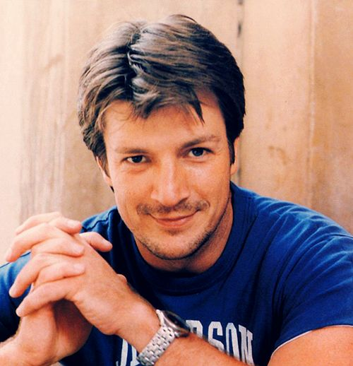 Nathan Fillion, he's just so cute! Love him as Castle