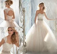 Source 2014 New Sweetheart Sleeveless Appliqued Tulle And Lace Custom Made Alibaba Ball Gown Wedding Dresses on m.alibaba.com