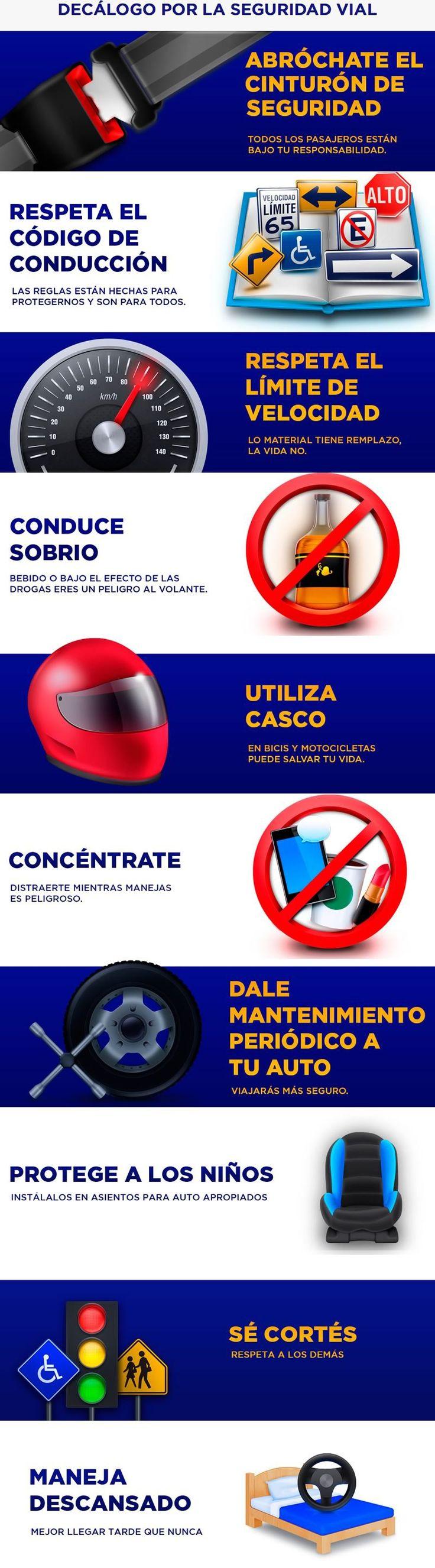 10 cosas que debes hacer para prevenir accidentes de tránsito