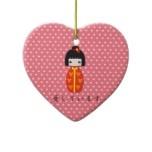 Personalized Kokeshi Doll, Ornament  http://www.zazzle.com/personalized_kokeshi_doll_ornament-175065733338913913