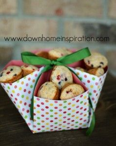 Make a Basket with only one piece of 12x12 paper - Down Home Inspiration