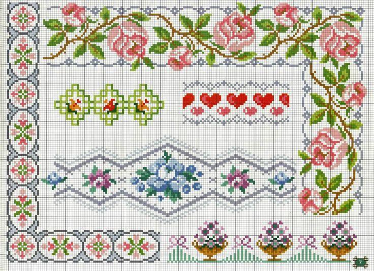 Barradinhos-de-flores-ponto-cruz-1 Barradinhos de Flores