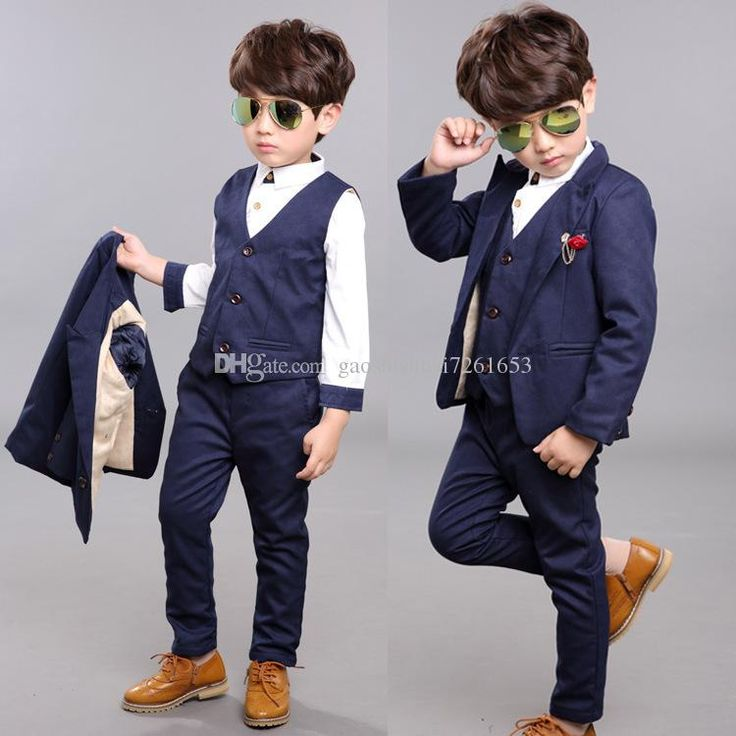 Get A Suit Of New England Classic Style Boys Formal Wear 95 Cotton Three