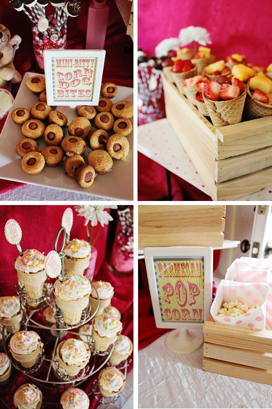 food circus baby showers themed baby showers baby shower foods baby