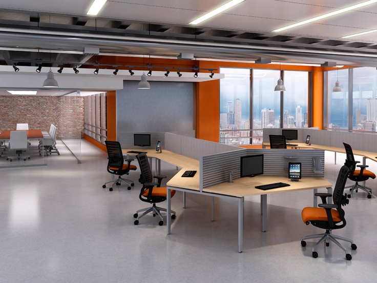 Best Office Desks Images On Pinterest Office Designs Office