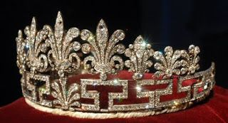 The other Spencer family tiara, never worn by Princess Diana.