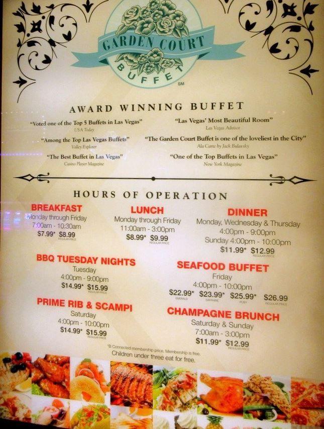 Buffet At The Garden Court Main Street Station Casino Brewery Hotel Vegas Buffets Las Vegas Buffet Las Vegas