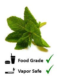 Plain unadulterated mint. Very strong, a little goes a long way.