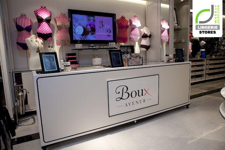 LINGERIE STORES! Boux Avenue lingerie store, Newcastle   UK store design