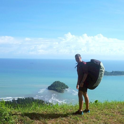 Keenan Pearce: Padang is highly recommended for those of you who want to explore the natural beauty of Indonesia. (Photo...