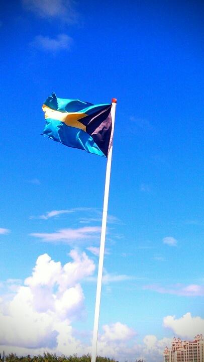Bahamas Flag..
