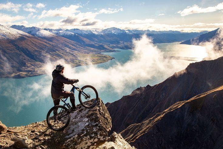 Mountain Biking New Zealand Road Cycling Biking Cycling Mountain Road Zealand In 2020 Mountain Biking Photography New Zealand Mountains New Zealand