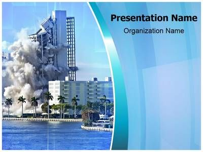 Building Collapse Powerpoint Template is one of the best PowerPoint templates by EditableTemplates.com. #EditableTemplates #PowerPoint #Building Exterior #Water #Dynamite #Flats #Obsolete #Debris #Shattesite #Disassembling #Ruined #Building #Down #Crumble #Danger #Window #Apartments #Construction Site #Construction #Built Structure #Explosives #Industry #Concrete #Rise #Old Ruin #Empty #Ruin #Outsideevelopment #Homes #Damaged #Collapsing #Outdoors #Demolish