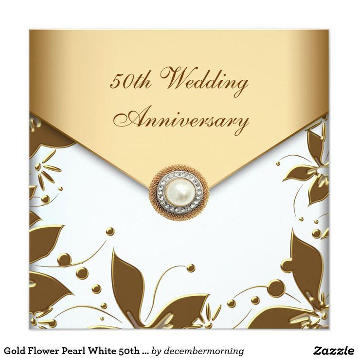 87 best Gold Wedding Anniversary images on Pinterest Golden - best of invitation maker for wedding