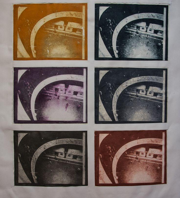 Metro Se, assemblage photo-etching, 2015