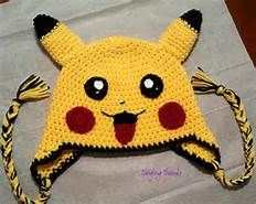 Free Crochet Pikachu Hat Pattern - Yahoo Image Search Results