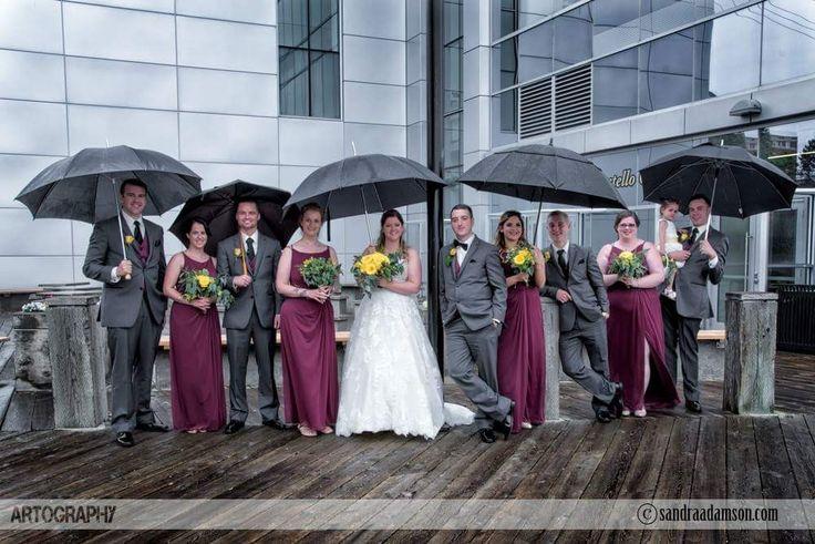 Sandra Adamson Studios specializes in capturing every moment of your wedding day in a creative, artistic and unqiue fine art style. www.sandraadamson.com  #Halifax #NS #Nova Scotia #halifaxweddingphotographer #halifaxnsweddingphotographer #weddingphotographer #weddingphotography #sandraadamson #wedding #bride #groom umbrella #rain
