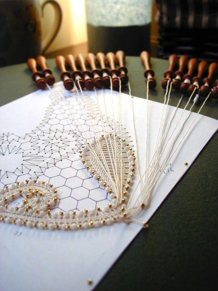 About bobbin lace