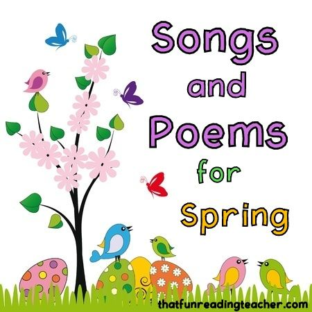 It is officially Spring, and what better way to usher in spring weather than with some spring songs and poems about spring weather, new life, rainbows, animals and more!