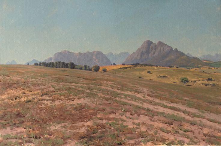 Eenzaamheid Oil on canvas  by Robert Koch