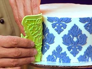 Silicone Onlays - Superior to Stencils & Perfect for Cake Decorating and Arts - lots of styles + video