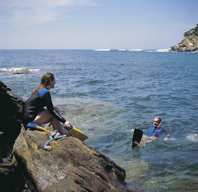 Snorkelling at Gordons Bay