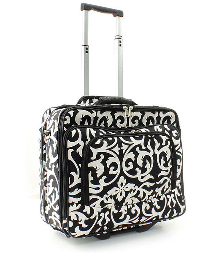 DAMASK Rolling Canvas Laptop Bag