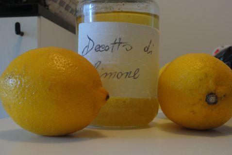 Decotto di limone