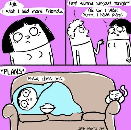I wish I had more friends..