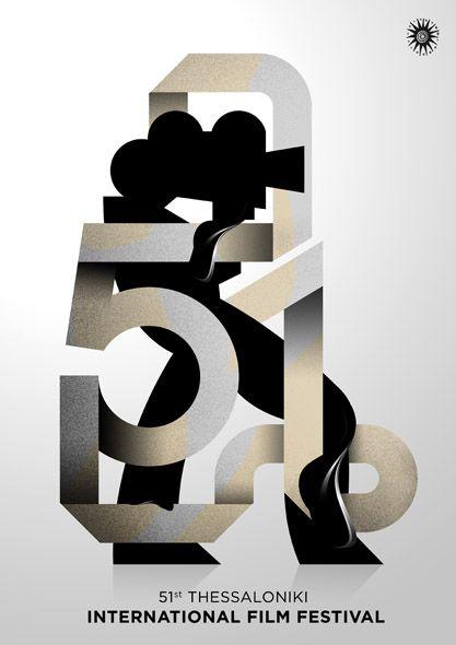 International Film Festival / #typography #poster / Antoine Eckart