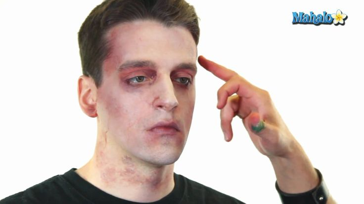 How to Do Basic Zombie Makeup Like this.