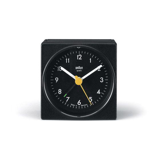 AB1 alarm clock by Dietrich Lubs & Dieter Rams