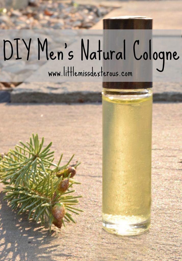 DIY Men's Natural Cologne {Spray or Roller}