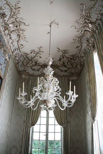 beautiful...: Decor, Interior, Idea, Chandeliers, Ceiling Detail, Ceilings, House