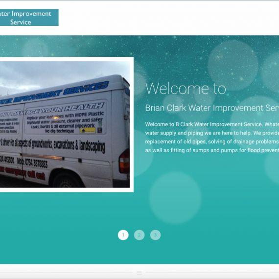 Water Improvement Services #websitedesign #webdesign #webdesigner