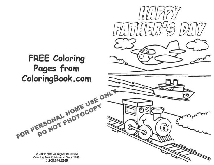 25 best coloring pages images on Pinterest Coloring books - new free coloring pages for father's day