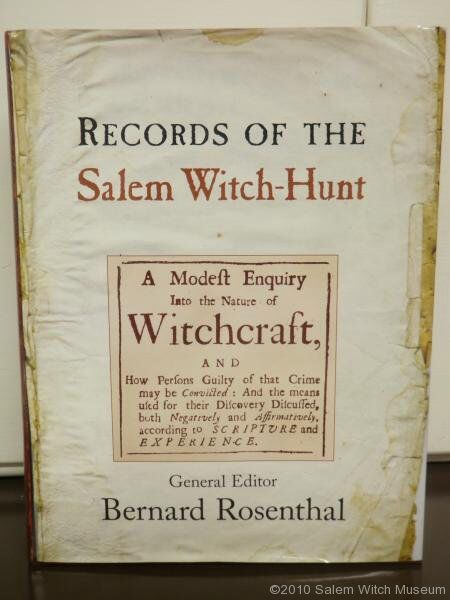 an introduction to the american history of witchcraft The salem witch trials of 1692 took place in salem introduction the salem witch trials of 1692 took place in salem a brief history of the salem witch trials.
