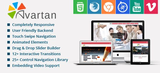 Avartan WordPress Slider Plugin