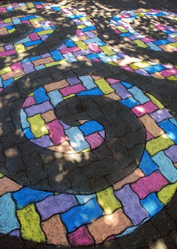 Best CHALK ART Images On Pinterest Sidewalk Chalk Art - Artist paints fake shadows onto sidewalks leaving people seriously confused